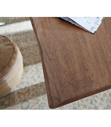 Jídelní stůl Live 180x90 cm Akácie Hnědá Deska 5.5 cm Nohy Široké