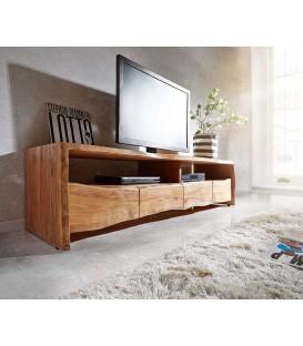Televizní stolek Live 190 cm Akácie Přírodní 4 Šuplíky