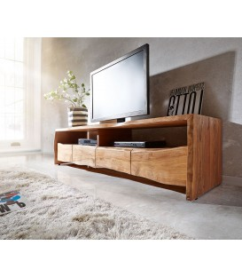 Televizní stolek Live 230 cm Akácie Přírodní 4 Šuplíky