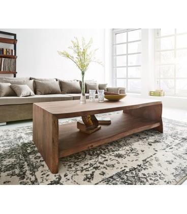 Konferenční stolek Live 130x60 cm Akácie Hnědá