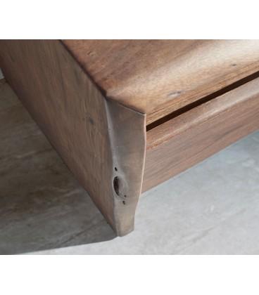 Televizní stolek Live 145 cm Akácie Hnědá 3 Šuplíky