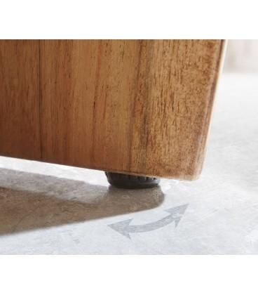Televizní stolek Live 145 cm Akácie Přírodní 3 Šuplíky