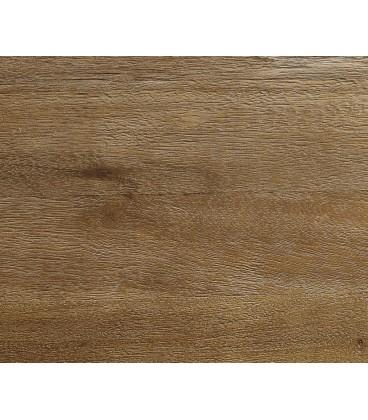 Konferenční Stolek Leandra 80x80 cm Exotické Dřevo Přírodní