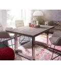Jídelní Stůl Classic 140x90 Akácie Platina Nohy Úzké