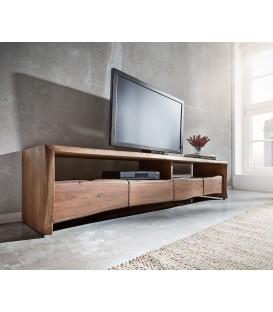 Televizní stolek Live 190 cm Akácie Hnědá 4 Šuplíky