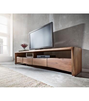 Televizní stolek Live 230 cm Akácie Hnědá 4 Šuplíky