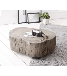 Konferenční stolek Live z kmene stromu Akácie Platina L