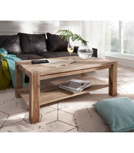 Konferenční stolek Vida 120x70 cm Sheesham Přírodní Masiv