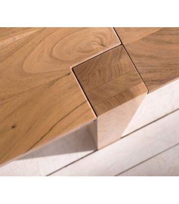 Jídelní Stůl Vida 200/300x100 cm Akácie Přírodní Rozkládací