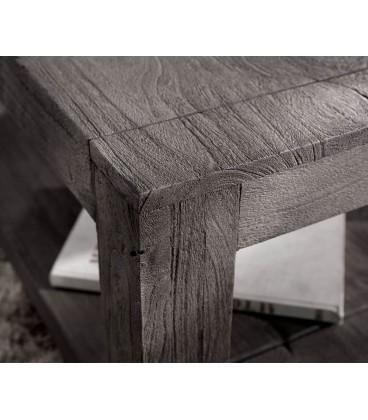 Konferenční stolek Vida 80x80 cm Akácie Platina 1 Foch