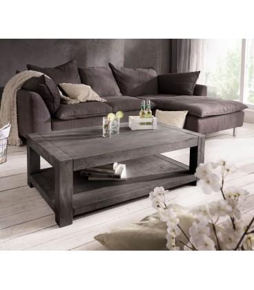 Konferenční stolek Vida 120x70 cm Akácie Platina 1 Foch