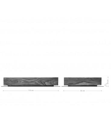 Konferenční stolek Vida 115x55 cm Akácie Přírodní