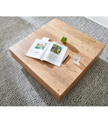 Konferenční stolek Vida 80x80 cm Akácie Přírodní
