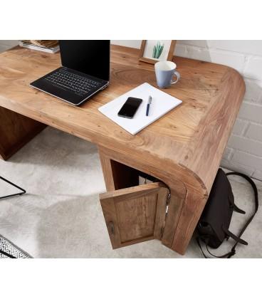 Psací stůl Wall 160x75 cm Akácie Přírodní