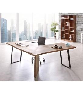Psací Stůl Live 170x170 cm Akácie Hnědá