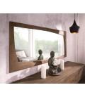 Zrcadlo Viat 160x70 cm Akácie Hnědá