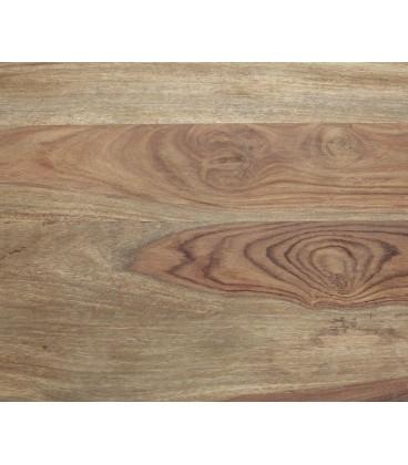 Jídelní Stůl Classic 200x100 Sheesham Nohy Šikmé Černé