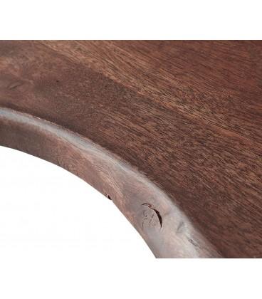 Jídelní stůl Live 200x100 cm Akácie Hnědá Deska 5.5 cm Nohy Úzké