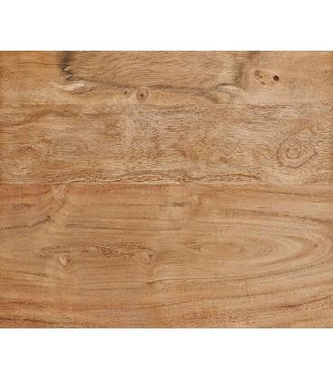 Jídelní stůl Live 200x100 cm Akácie Přírodní Deska 5.5 cm Nohy Široké
