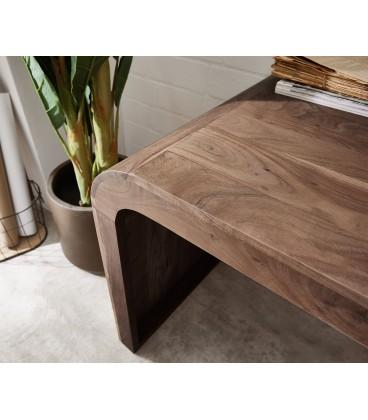 Psací stůl Wall 160x75 cm Akácie Hnědá