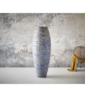 Váza Spirála 165x61 Beton Modrý