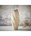 Váza Vlna 220x95 Beton Zlato-Bílý