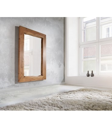 Zrcadlo Live 135x85 cm Akácie Přírodní