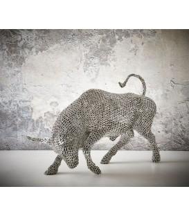 Hliníkový Býk Socha 230x51 cm