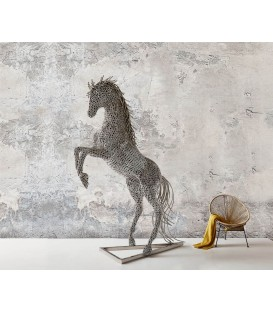 Hliníkový Kůň Socha 230x51 cm