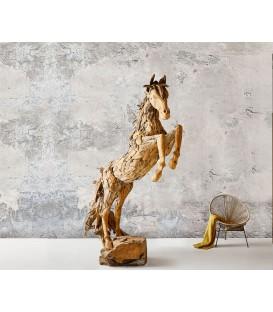 Postava Koně 120x194x275 cm Teak