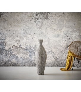 Váza Láhev 150x40 Beton Černo-Bílý
