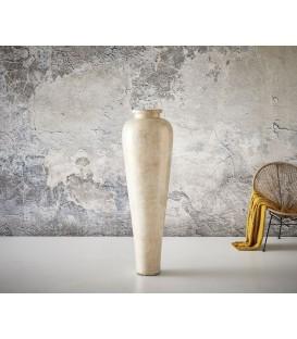Váza Tula 45x45x150 Beton Zlato-Bílý