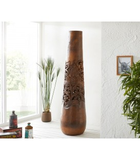 Váza Kokos s Řezbami 200x50