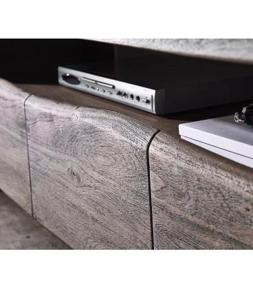 Televizní stolek Live 190 cm Akácie Platina 4 Šuplíky