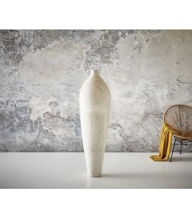 Váza Úzký Balón 150x45 cm Beton Bílý