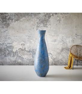 Váza Sulu 150x50 cm Beton Modrý