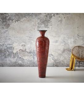 Váza Elen 200x61 cm Beton Červený