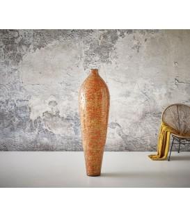 Váza Úzký Balón 150x45 cm Beton Oranžový