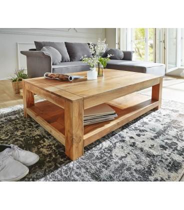 Konferenční stolek Vida 120x70 cm Akácie Přírodní 1 Foch