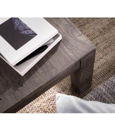 Konferenční stolek Vida 120x70 cm Akácie Platina