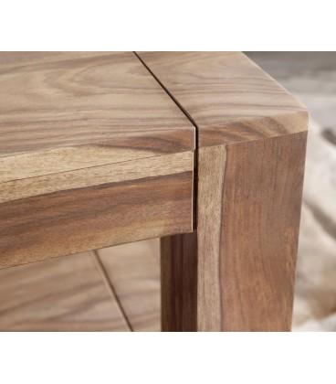 Konferenční stolek Vida 120x70 cm Sheesham Přírodní 1 Foch